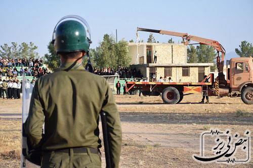 اعدام در ورزشگاه نیریز استان فارس دردسرساز شد!