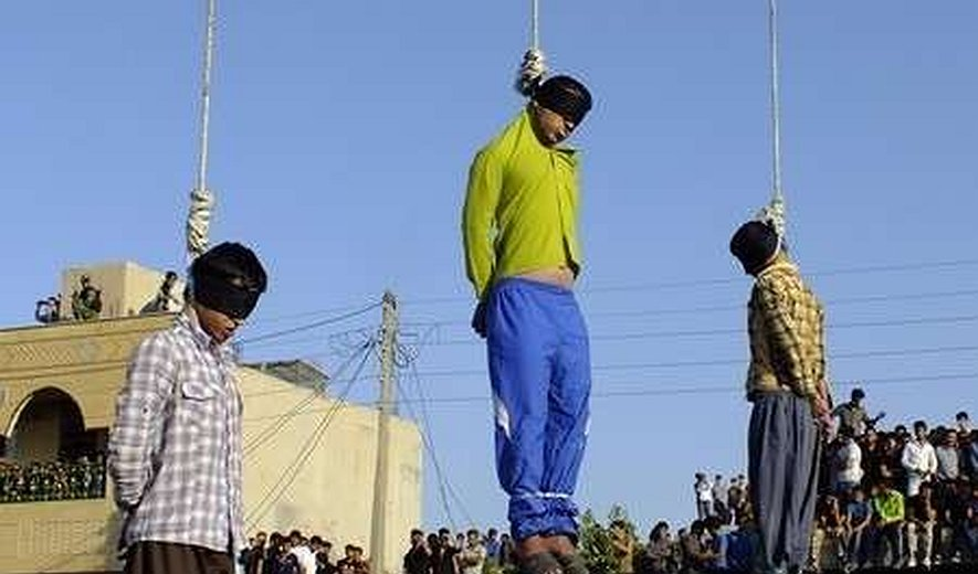 Three Public Executions in Shiraz (Southern Iran) Today