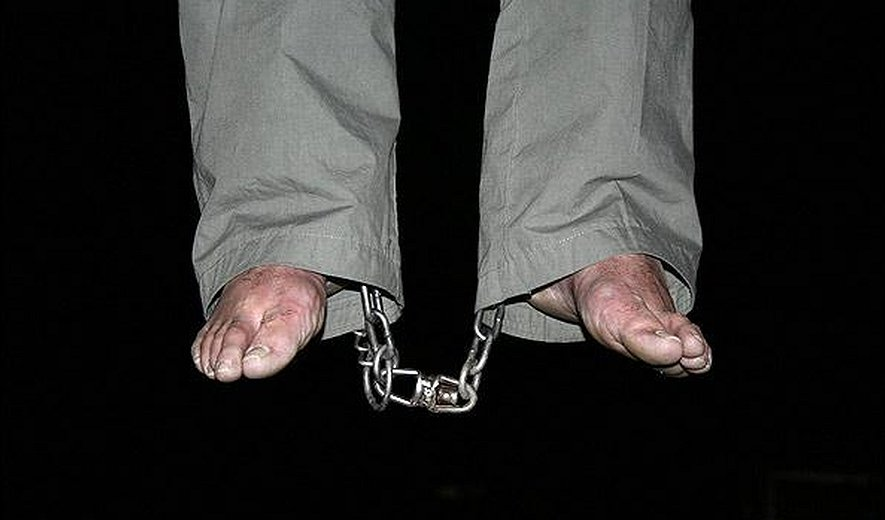 One woman and two men hanged for drug related charges in Western Iran