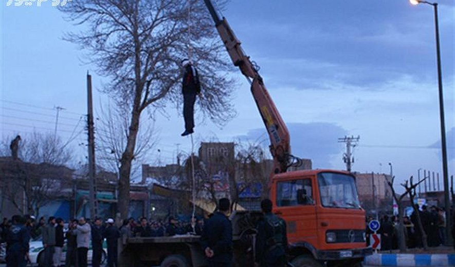 Two Public Hangings in Iran