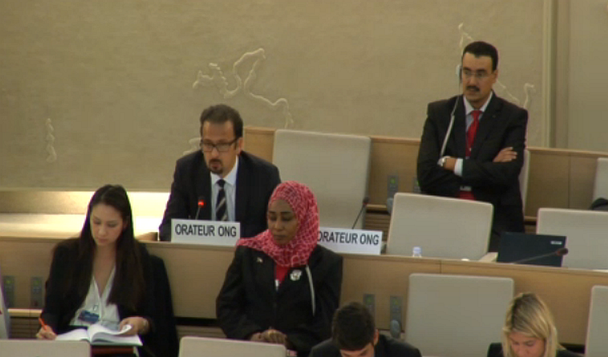 "UN/HRC 30th Session: ""Panel on the impact of the world drug problem on human rights"