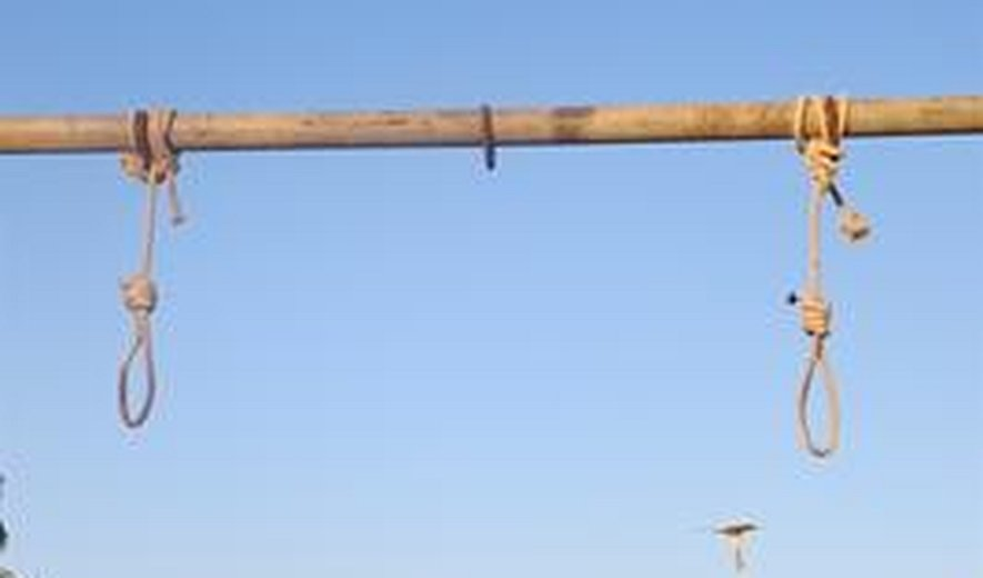 Two prisoners were hanged in Southern Iran