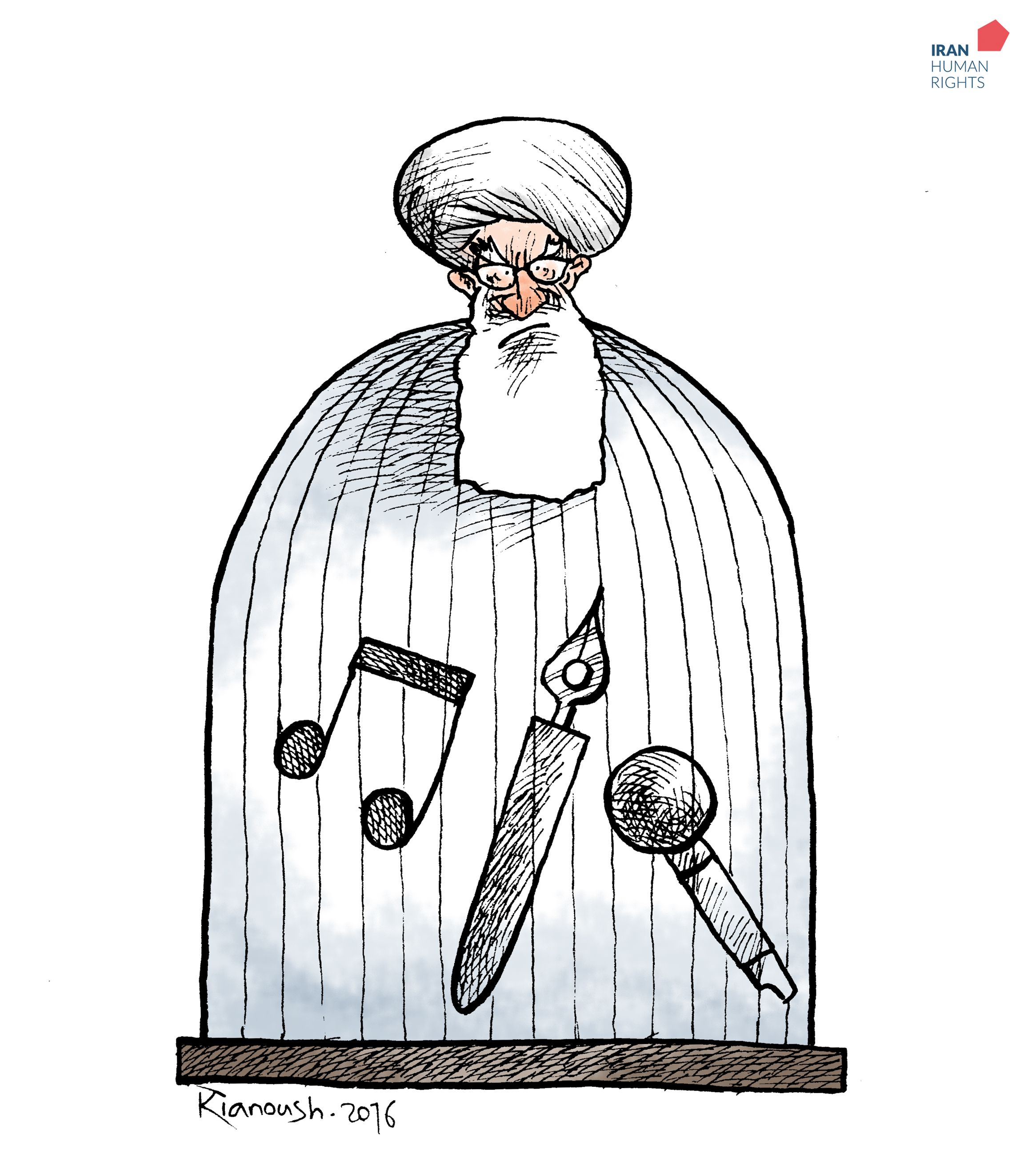 Ayatollahs think they can stop the art by putting artists in prison