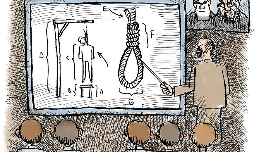 Iran promoting death penalty in children books