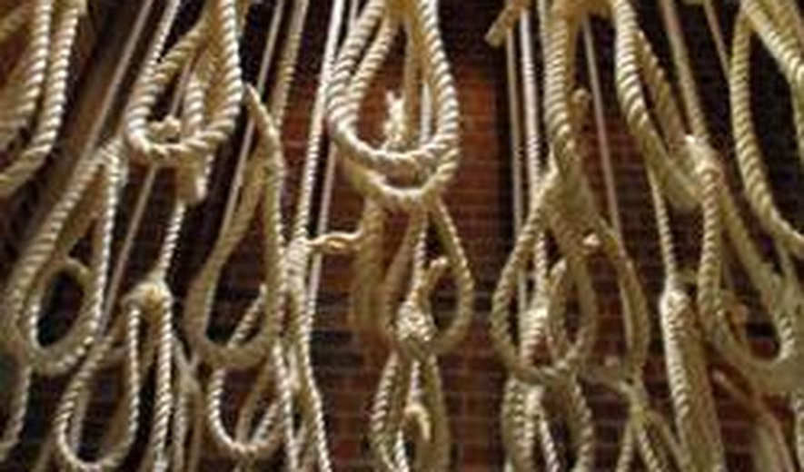 Six Prisoners Were Hanged For Drug Related Charges in Iran- 24 Executions in Two Days in Iran
