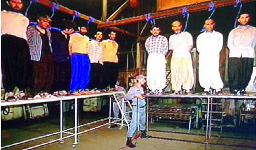 Five Men and One Woman Were Hanged in Rajai Shahr Prison This morning- At least 54 Executions in September in Iran