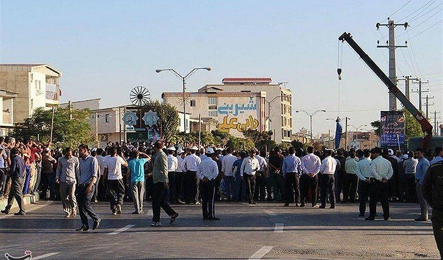 Iran: Man Hanged in Public for Murder