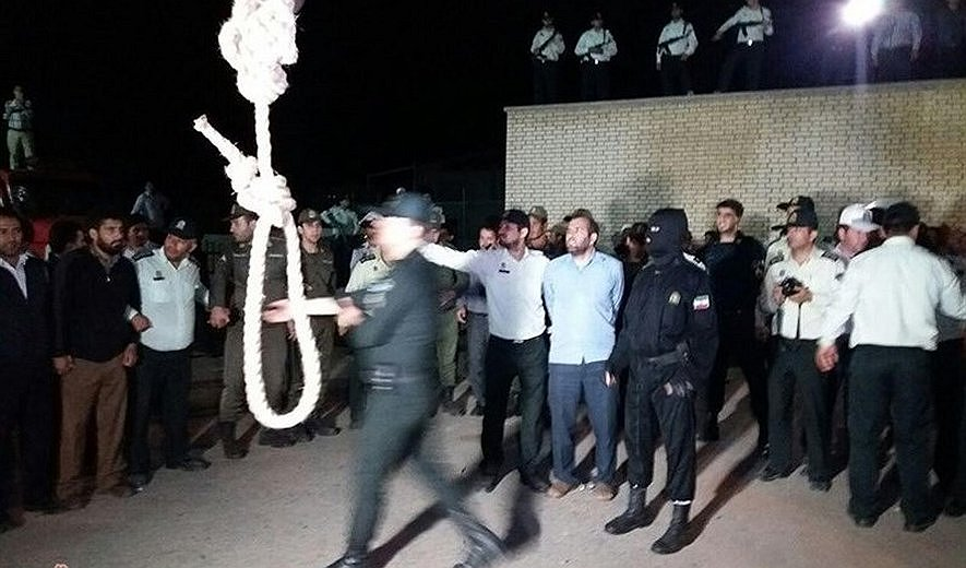 Man Hanged in Public in Front of Large Crowd