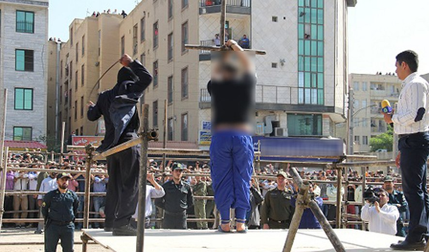 Seven People Executed- Two in Public- and Public Flogging in Iran