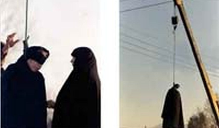 One Woman in Iran Flogged 100 Times then Hanged